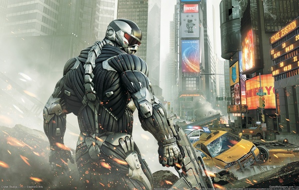 Picture The city, Crysis 2, Crisis, Crytek