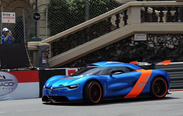 Picture auto, Concept, track, Renault, the concept car, Reno, Alpine, A110-50