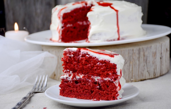 Picture red, cake, color