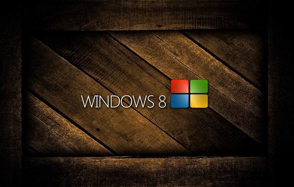 Picture tree, logo, Microsoft Windows, Windows 8