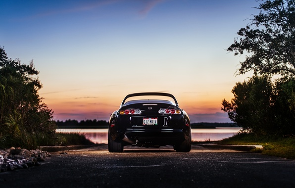 Picture lights, Toyota, Supra, feed, Charles Siritho