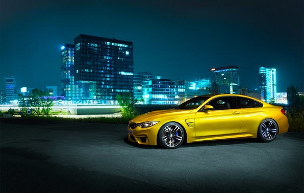 Picture BMW, Shooting, Front, Germany, Coupe, Night, F82