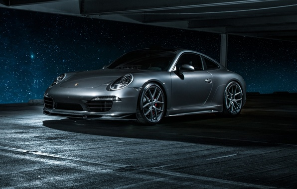 Picture 911, Porsche, Carrera 4, grey, Porsche, Carrera, 2015