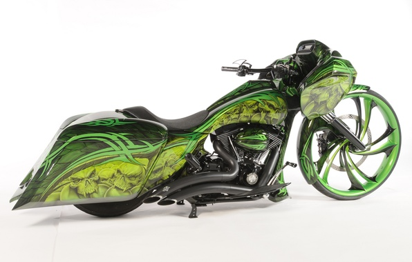 Picture design, style, background, motorcycle, form, airbrushing, bike