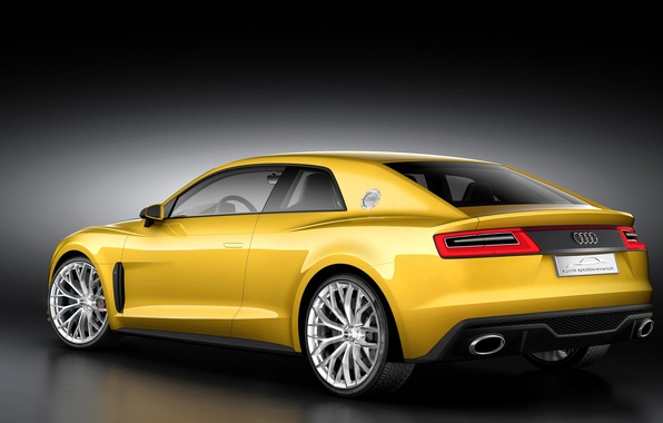 Picture Audi, sport, coupe, concept