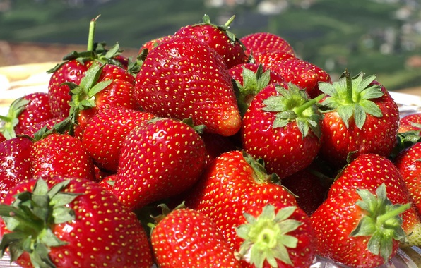 Picture Wallpaper, Strawberry, berry