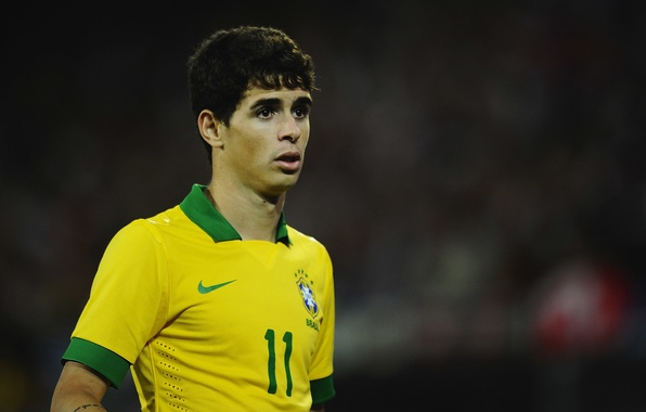 Picture football, Brazil, Oscar, Nike, Football, London, Chelsea, Brazil, Oscar, Nike