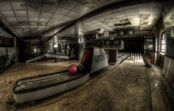 Picture sport, hall, bowling
