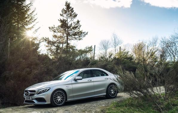 Picture Mercedes, Mercedes, AMG, AMG, UK-spec, 2015, W205, C 63 S