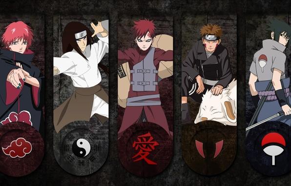 Picture Kiba, sword, logo, game, Sasuke, Naruto, anime, katana, sharingan, ninja, asian, Akatsuki, Uchiha, manga, Uchiha ...