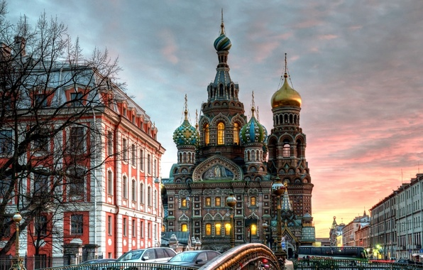 Picture hdr, Saint Petersburg, Church of the Savior on Blood, Cathedral Of The Resurrection Of Christ