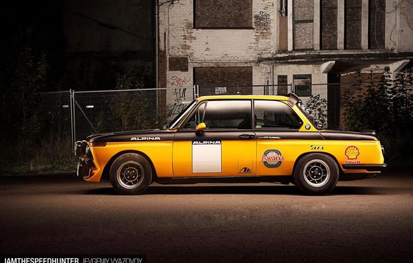 Picture BMW, E10, 2002-spec 2.0-litre, rally race car