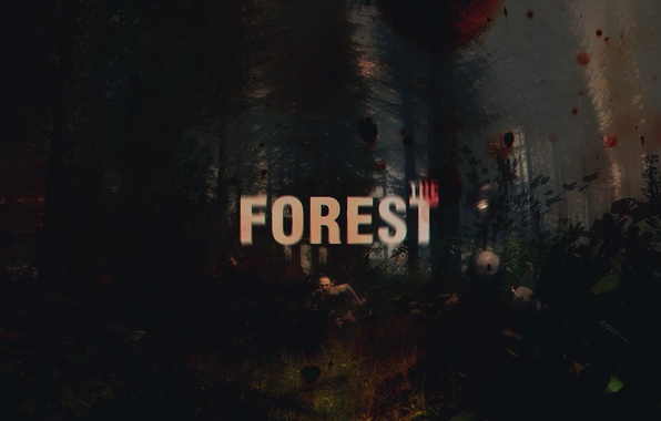 Picture the game, zombies, survival, the game, 2014, survival, The Forest, Kraft
