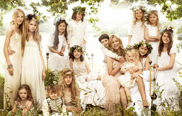 Picture nature, girls, woman, girls, Kate Moss