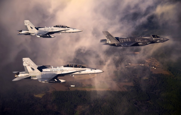Picture weapons, aircraft, F-35