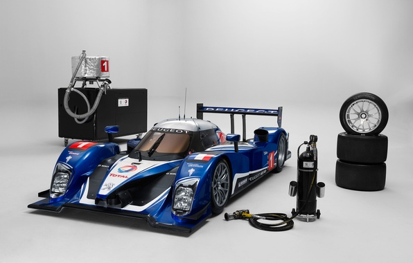 Picture France, Peugeot, 2010, France, peugeot, LMP1, 24 Hours of Le Mans, 24 hours of Le …