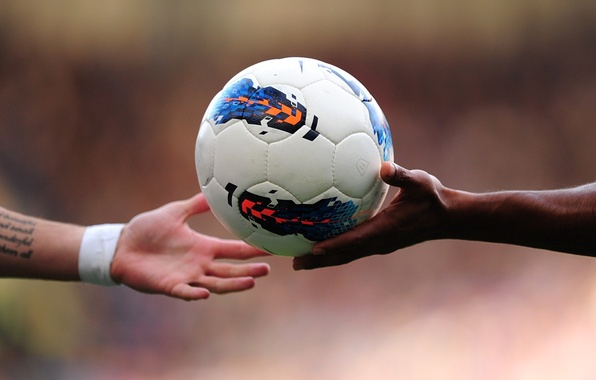 Picture hands, The ball, Ball, Chelsea, Chelsea, Torres, Drogba, The Premier League, English League, EPL