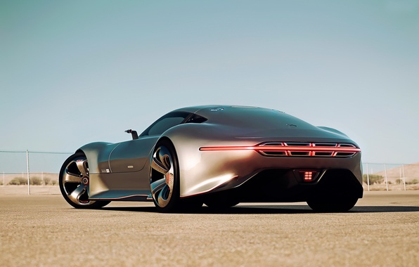 Picture Mercedes-Benz, Gran Turismo, AMG Vision, Silver Stunner