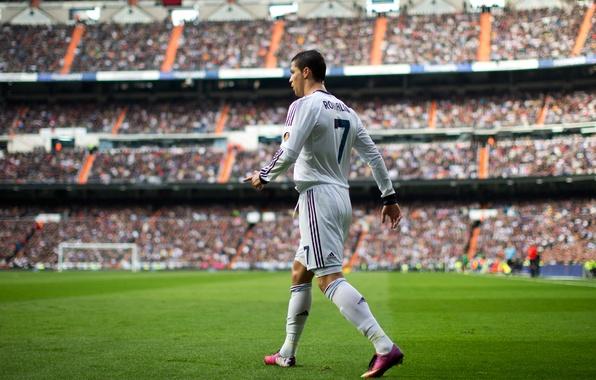 Picture Sport, Football, Cristiano Ronaldo, Santiago Bernabeu, Football, Real Madrid, Real Madrid, Cristiano Ronaldo, El Clasico, …