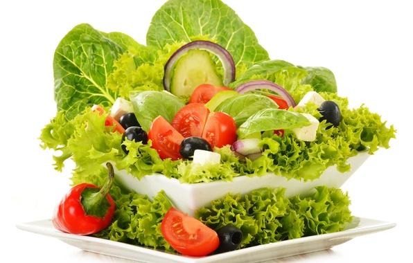 Picture greens, vegetables, vegetables, greens, vegetable salad, vegetable salad