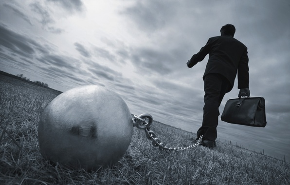 Photo wallpaper destiny, future, chains, worker oppression, steel ball
