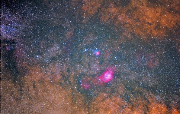 Picture space, stars, nebula, nebula, the universe