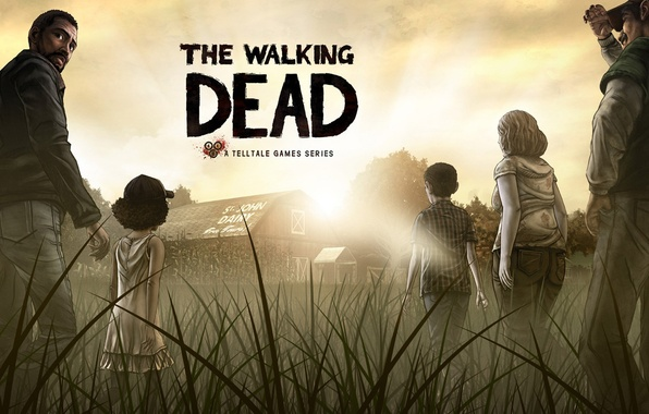 Picture the game, zombies, The Walking Dead, The Walking Dead: The Game, Telltale Games