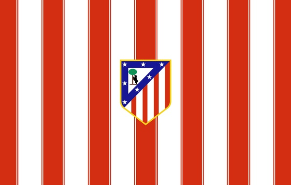 Wallpaper Sport, Logo, Football, Spain, Atletico Madrid
