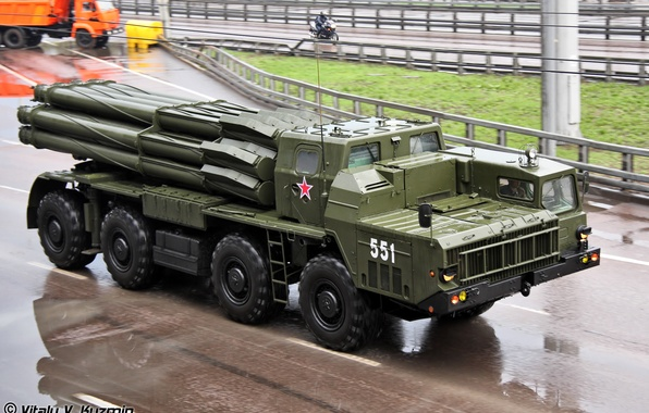 Picture weapons, bombs, after, artillery, Tornado, Soviet, rocket, atomic, powerful, the, the most powerful, MLRS