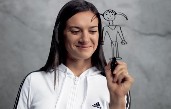 Picture Adidas, possible, impossible, Isinbayeva Lena