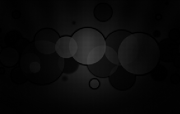 Picture light, circles, darkness