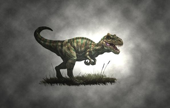 Picture draw, dinosaur, allosaurus