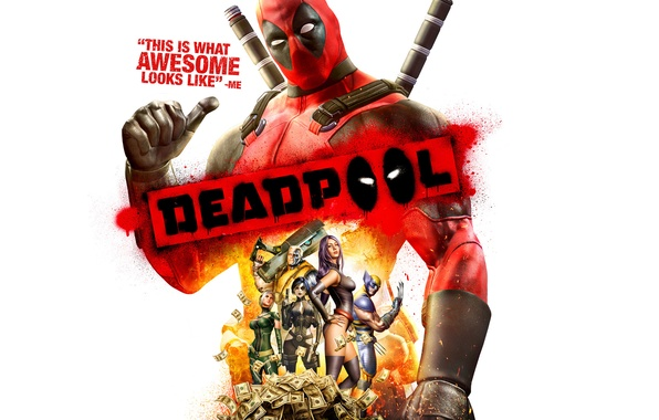 Picture money, Deadpool: The Game, talkative mercenary, Wade Winston Wilson, Activision Publishing, antihero, High Moon Studios, ...