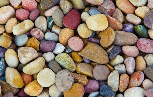Picture colorful, stones, pebbles