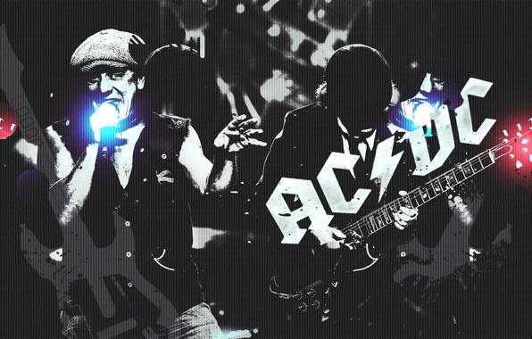 Picture rock, legend, AC-DC