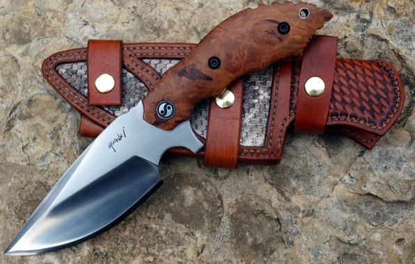 Picture knife, the handle, sheath