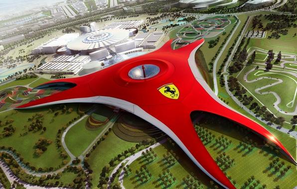 Picture future, Dubai, Ferrari World