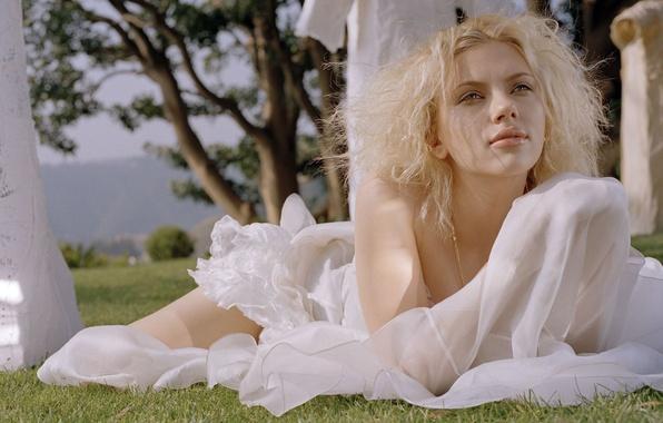 Picture girl, actress, blonde, Scarlett Johansson, Scarlett johansson