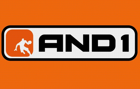 Picture Wall, Orange, Basketball, Background, Logo, Texture, Firm, Brick, And1