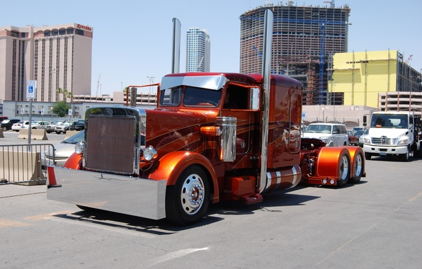 Picture custom, truck, big rig, peterbilt
