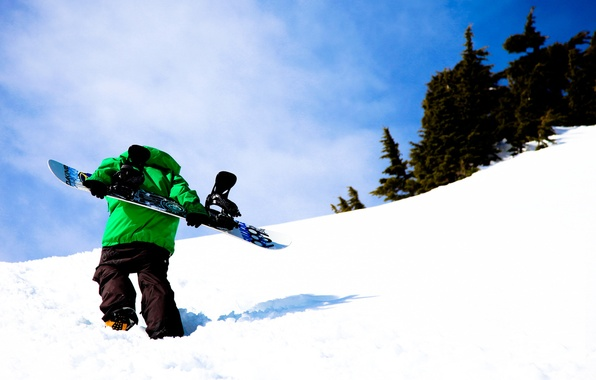 Picture snowboard, 686, rider