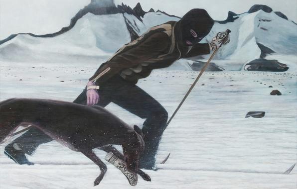 Picture picture, Norwegian artist, Christer Karlstad, Cross Country Phantom