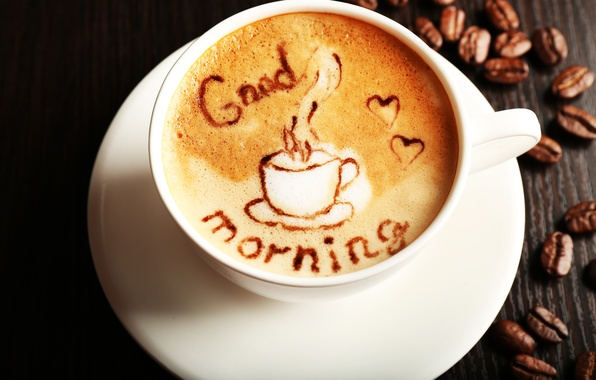 Wallpaper Coffee Cup Coffee Good Morning Images For Desktop