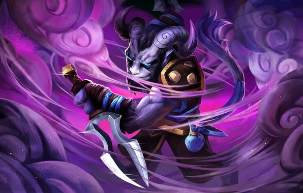 Picture art, dota 2, riki, moba, Stealth Assassin