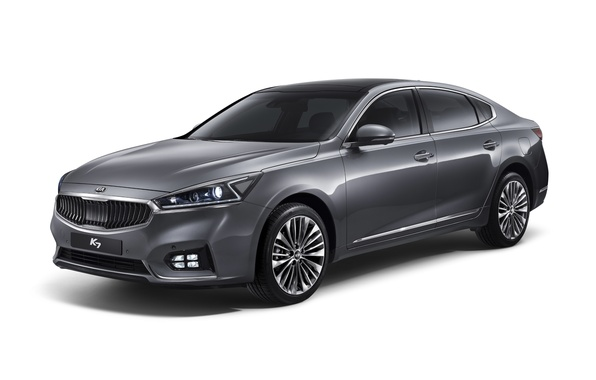Picture white background, sedan, Kia, Kia, Cadenza
