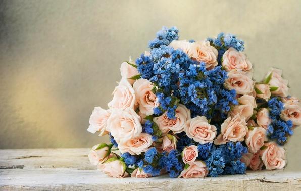 Picture flower, roses, bouquet, flower, bouquet, roses