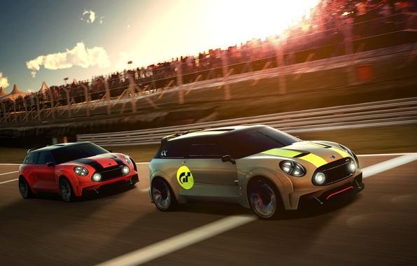 Picture car, Vision, race, Gran Turismo, Mini Clubman