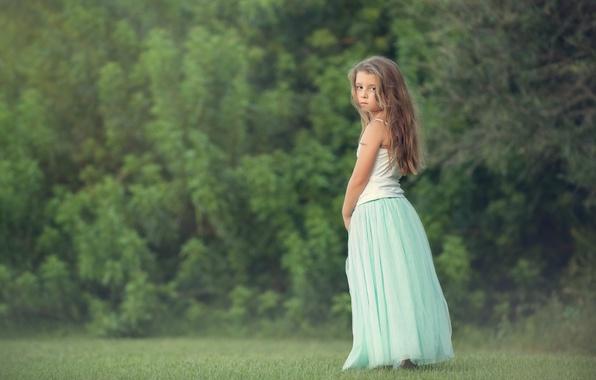 Picture look, background, mood, widescreen, Wallpaper, child, girl, wallpaper, girl, long hair, long hair, widescreen, background, …