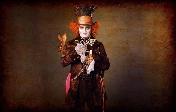 Picture movies, Alice in Wonderland, Johnny DEP