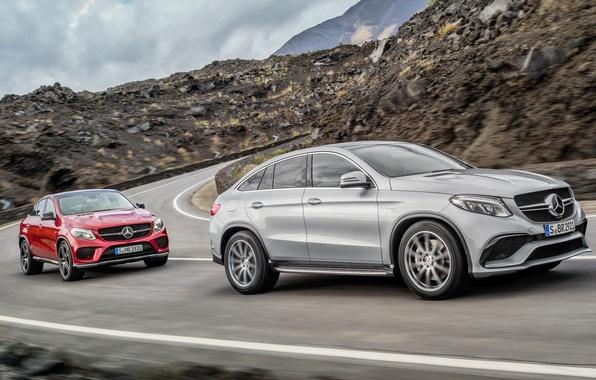 Picture Mercedes-Benz, Mercedes, 2015, GLE-class